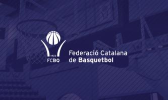 COMUNICAT Federació Catalana de Basquetbol (FCBQ) Ajornat l'inici de totes les competicions organitzades per la Federació Catalana de Basquetbol (FCBQ)